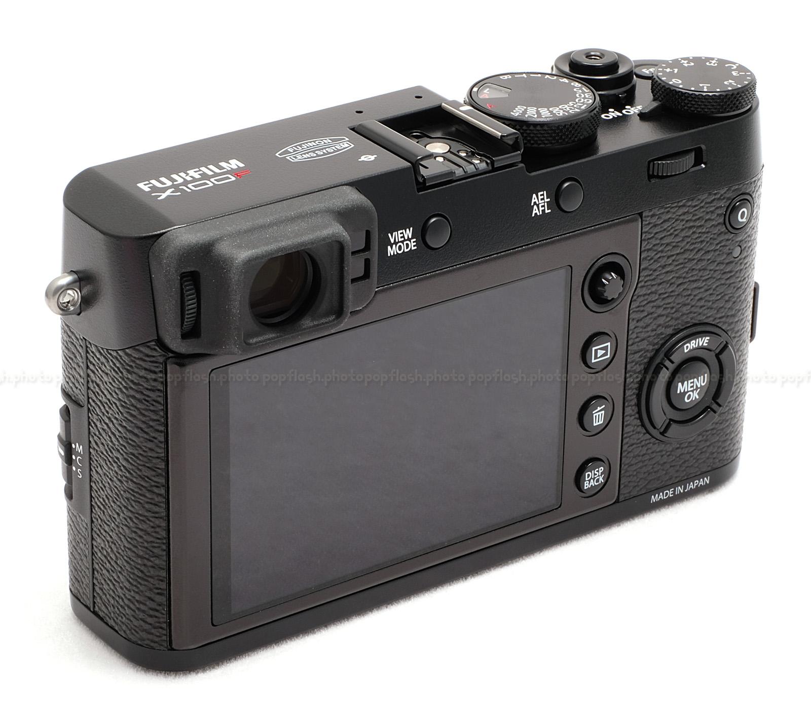 Fujifilm X100f Black Digital Camera For Sale