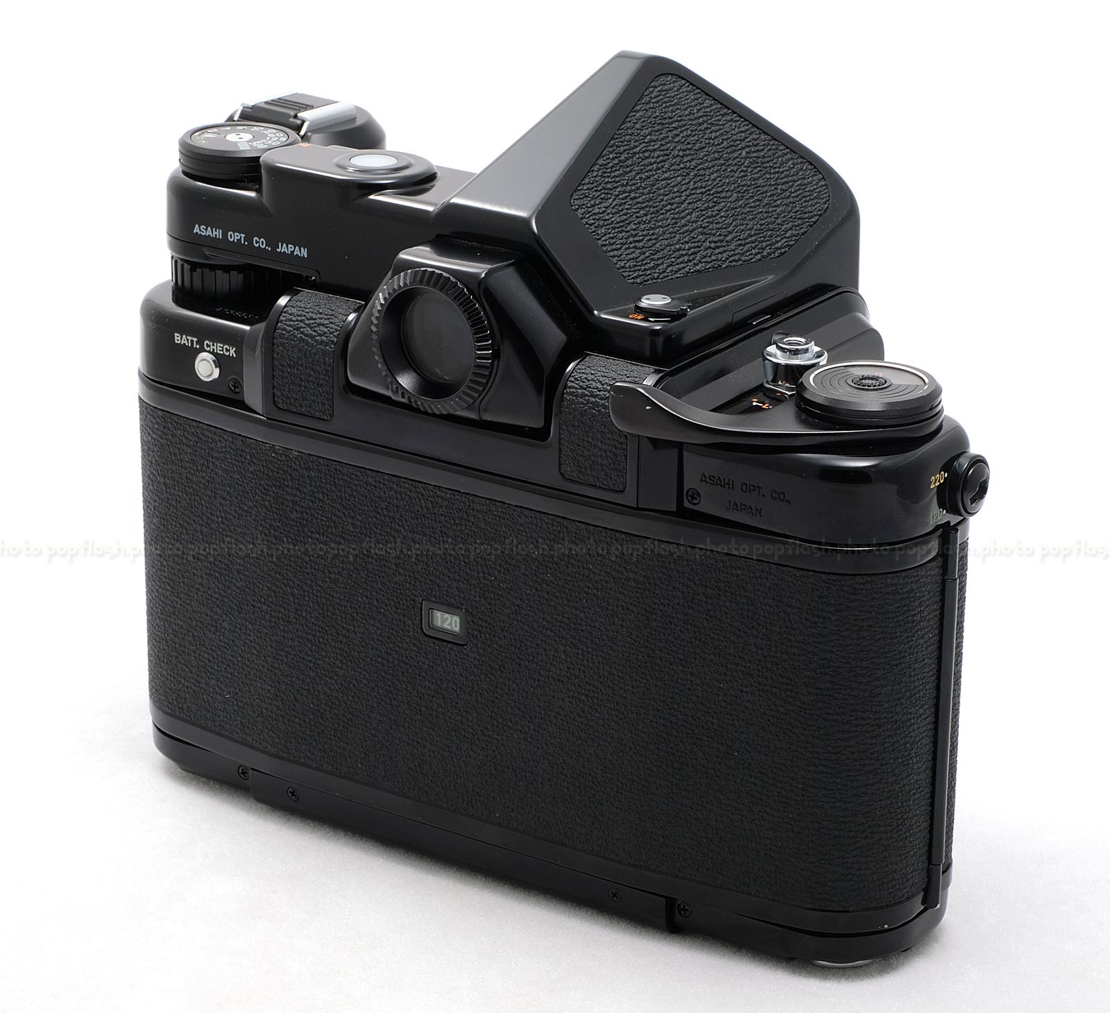 PENTAX ASAHI 6x7 TTL FILM CAMERA USED (MLU VERSION) with 135MM  MACRO-TAKUMAR & WOOD HAND GRIP