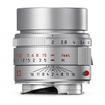 LEICA 50MM F/2 ASPH. APO-SUMMICRON-M 6-BIT SILVER LENS #11142 USA USED-MINT!