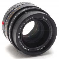 LEICA 35MM F/1.4 ASPH. SUMMILUX-M BLACK 6-BIT LENS #11663 USA NEW