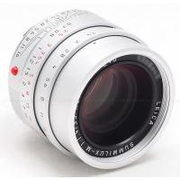 LEICA 35MM F/1.4 ASPH. SUMMILUX-M SILVER (6-BIT CODED) LENS #11675 USA NEW!