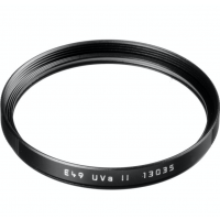 LEICA E49MM UVA II (BLACK RIM) FILTER #13035 USA NEW