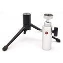 LEICA TABLE TOP TRIPOD SET with SILVER LARGE BALL HEAD #14100/14110 USA NEW!
