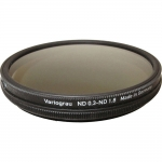 HELIOPAN 49MM VARIABLE GRAY ND (BLACK RIM) FILTER #704990 NEW