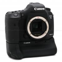 CANON EOS 7D MARK II DSLR CAMERA BODY USA USED-MINT with BG-E16 BATTERY GRIP