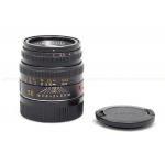 LEICA 50MM F/2 SUMMICRON-M (NON 6-BIT) BLACK LENS #11826 USED