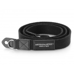 ARTISAN & ARTIST* ACAM-102 BLACK ACRYLIC CLOTH CAMERA STRAP NEW!