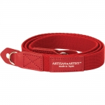ARTISAN & ARTIST* ACAM-102 RED ACRYLIC CLOTH CAMERA STRAP NEW!
