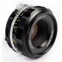 VOIGTLANDER 40MM F/2 ULTRON SL IIS ASPHERICAL (NIKON F-MOUNT) BLACK RIM LENS NEW