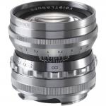 VOIGTLANDER 50MM F/1.5 NOKTON ASPHERICAL (LEICA M-MOUNT) SILVER LENS NEW
