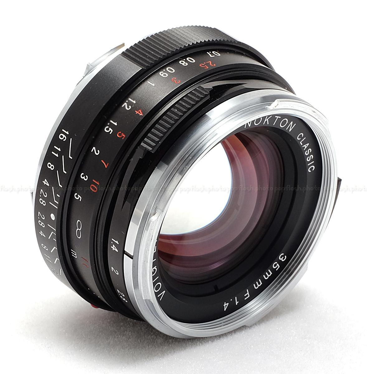 Voigtlander 35mm F 1 4 Mc Nokton Leica M Mount Lens New